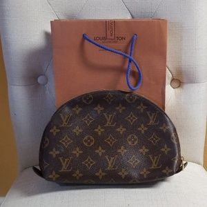 Authentic Louis Vuitton vintage cosmetic bag